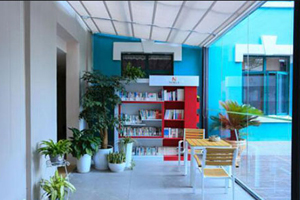 上海新纪元双语学校阅览休息厅