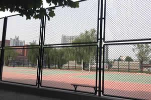 北京第二外国语学院出国留学校园环境操场