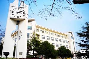 青岛大学出国留学校园环境校园一角