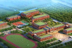 平湖枫叶国际学校鸟瞰图