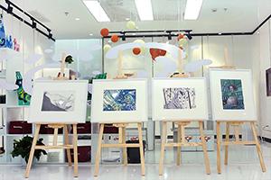 夏加儿美术教育学员作品展示