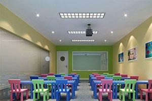 昂立少兒教育教室環境