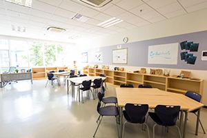 深圳市龍華區諾德安達雙語學校教室