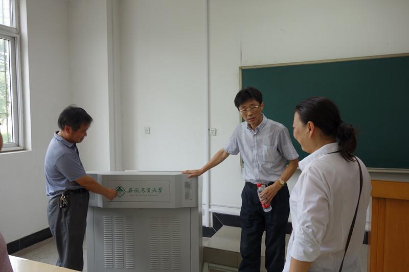 安徽农业大学副校长韩军带队检查新学期工作情况