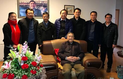 西北工业大学航空学院领导班子拜访陈一坚、唐长红院士