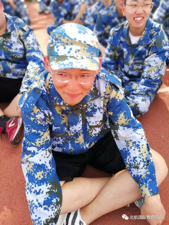 北京航空航天大学3+2留学军训