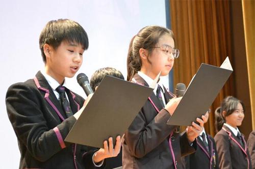 黑利伯瑞校园国际初中部:第一次作文集助为以学校话题初中的图片