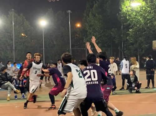 首都师范大学3+2留学篮球队