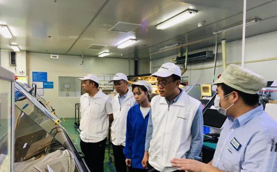 贺州学院人工智能学院赴广东企业开展实习就业考察