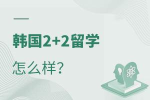 韩国2+2留学怎么样?