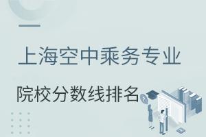 上海空中乘务专业院校分数线排名