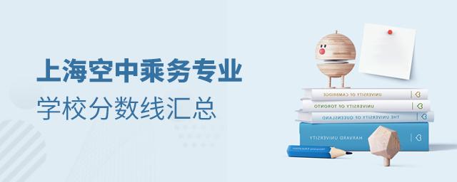 上海空中乘务专业学校分数线