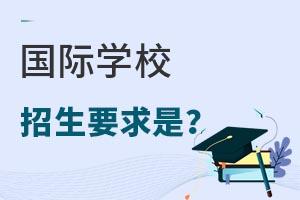 国际学校招收什么样的学生?