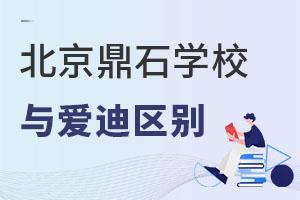 北京鼎石国际学校对比爱迪国际学校招生区别是?