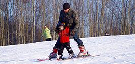 滑雪冬令营